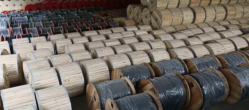 aerial bundled cable stock in Huadong Group