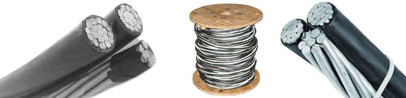 aluminum triplex underground cable charactors
