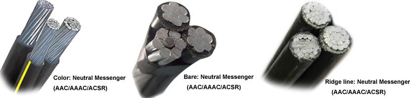cable triplex aluminio structure
