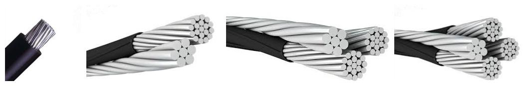 Duplex Triplex Quadruplex Service Drop Cable
