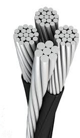 quadruplex aluminum direct burial cable
