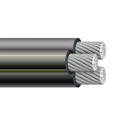 Huadong 350 mcm aluminum triplex urd cable
